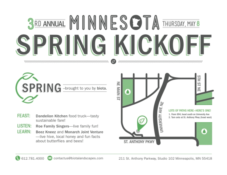 MN Spring Kickoff Print Invitation (back)