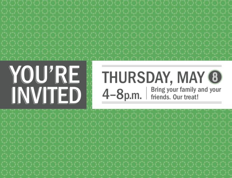 MN Spring Kickoff Print Invitation (front)