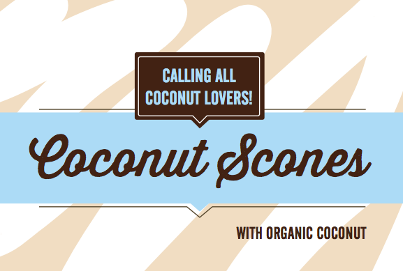 Coconut Scones POP