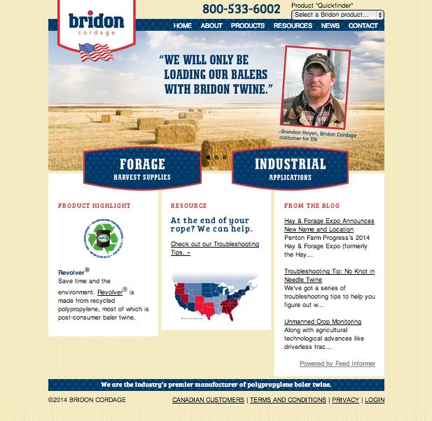 Bridon Cordage Homepage