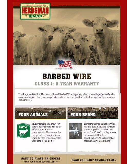 Herdsman Email April