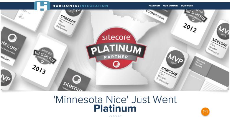 Sitecore Platinum Accolade MN Version