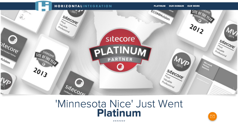 Sitecore Platinum Accolade MN Version